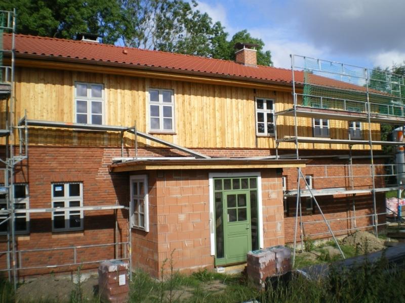 Fassadenverkleidungen Wohnhaus Obergeschoss