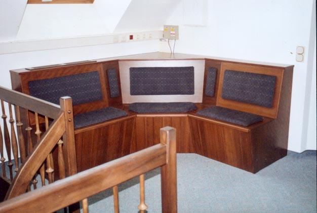 Sitzecke Tischlerplatte