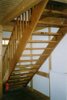 Holztreppe Eiche