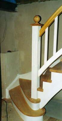 Treppe Kiefer
