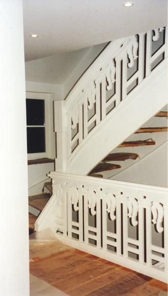 Treppe Lärche Kiefer